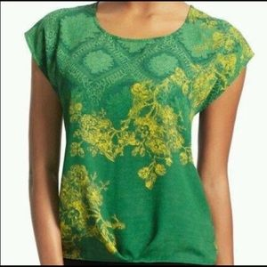 CAbi Tops 597 Green with Envy Size M